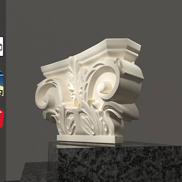 Grecian Classic 3D Model For Sketchup Pack 1