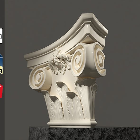 Grecian Classic 3D Model For Sketchup Pack 3