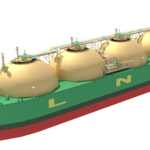 LNG Carrier Moss Type