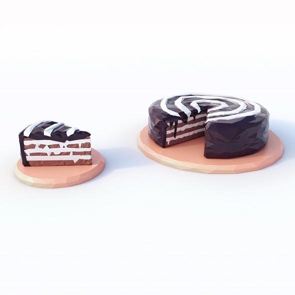 Cake Low Poly