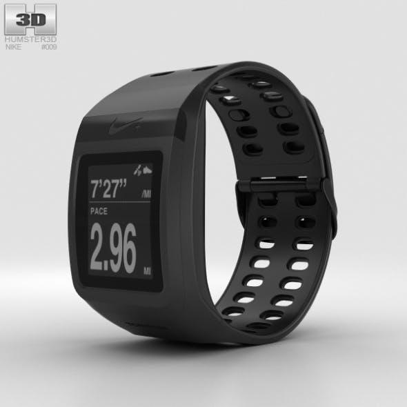Nike+ SportWatch GPS Black - 3DOcean Item for Sale