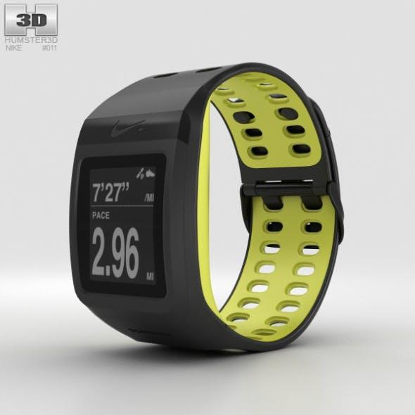 Nike+ SportWatch GPS Black/Volt