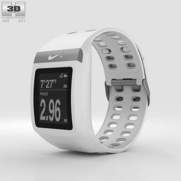 Nike+ SportWatch GPS White - 3DOcean Item for Sale