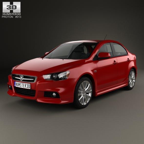 Proton Inspira 2010 - 3DOcean Item for Sale