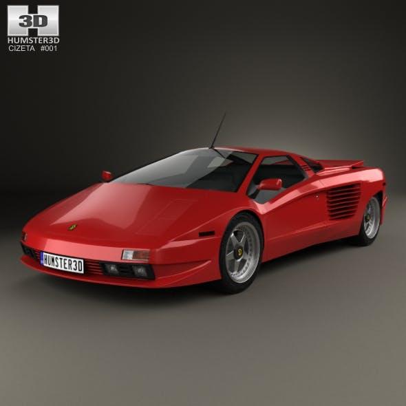 Cizeta-Moroder V16T 1991 - 3DOcean Item for Sale