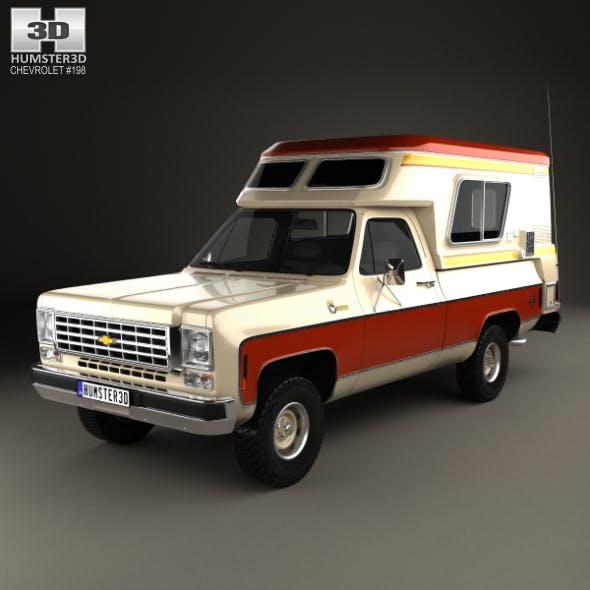 Chevrolet Blazer Chalet 1976 - 3DOcean Item for Sale