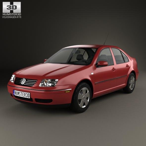 Volkswagen Jetta Sedan 2003 - 3DOcean Item for Sale