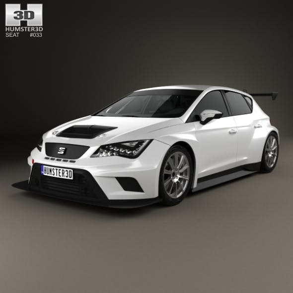 Seat Leon Cup Racer 2014 - 3DOcean Item for Sale