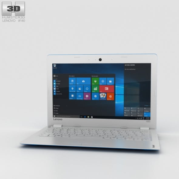 Lenovo Ideapad 100S Blue