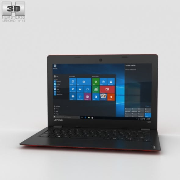 Lenovo Ideapad 100S Red