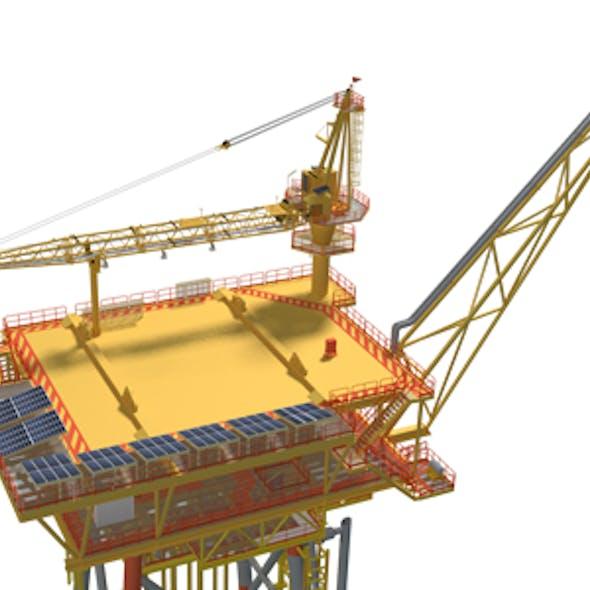 Offshore Wellhead Platform