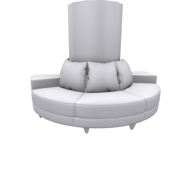 Circle type sofa - 3DOcean Item for Sale