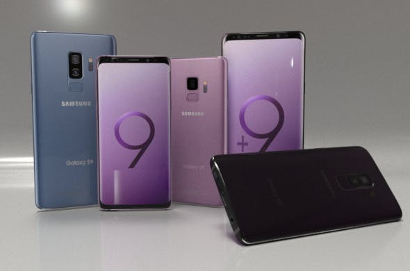 Samsung Galaxy S9 Collection - 3DOcean Item for Sale
