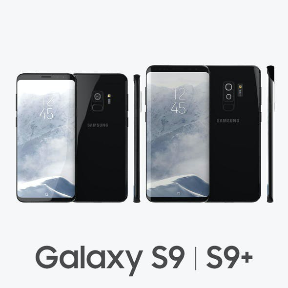 Samsung Galaxy S9, S9+ Black