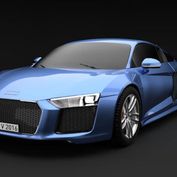 Audi R8 V10 2016