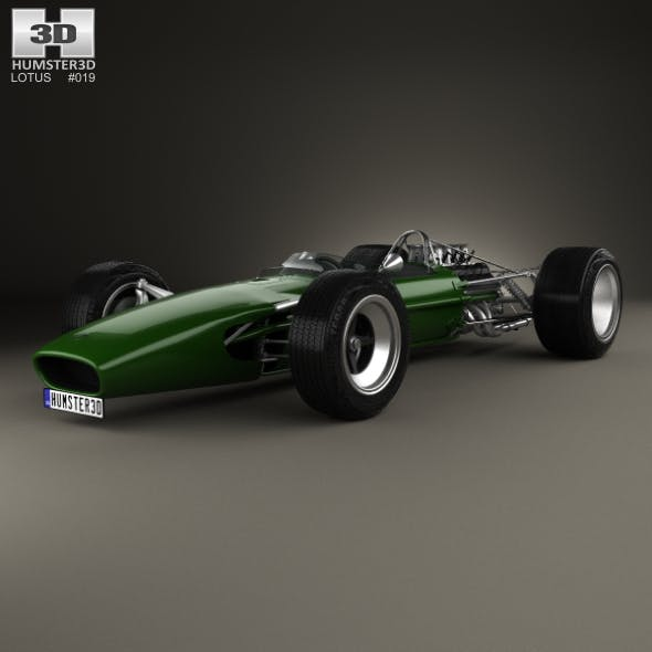 Lotus 49 1967 - 3DOcean Item for Sale