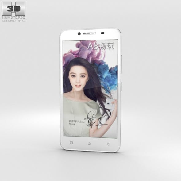 Lenovo A3690 White - 3DOcean Item for Sale