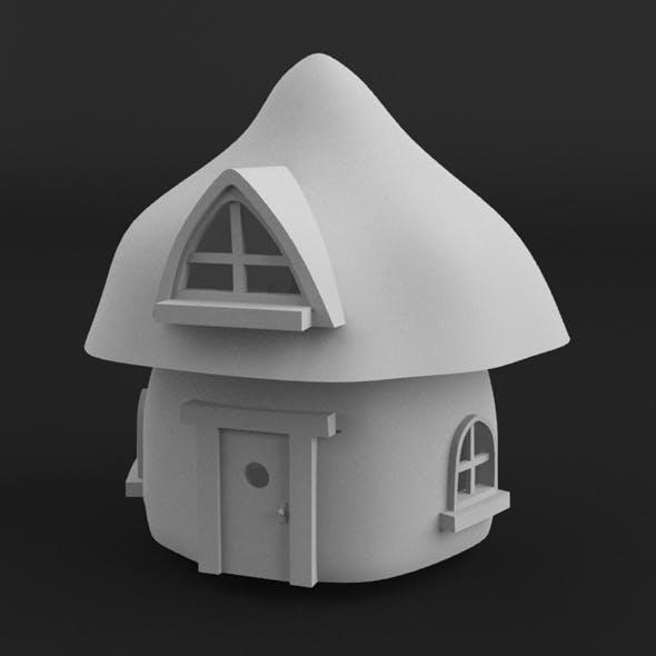 Mushroom House - 3DOcean Item for Sale