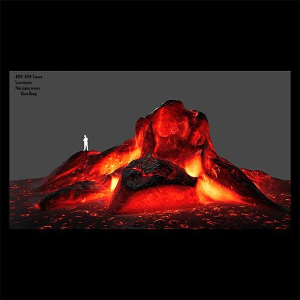 lava rocks 1 - 3DOcean Item for Sale