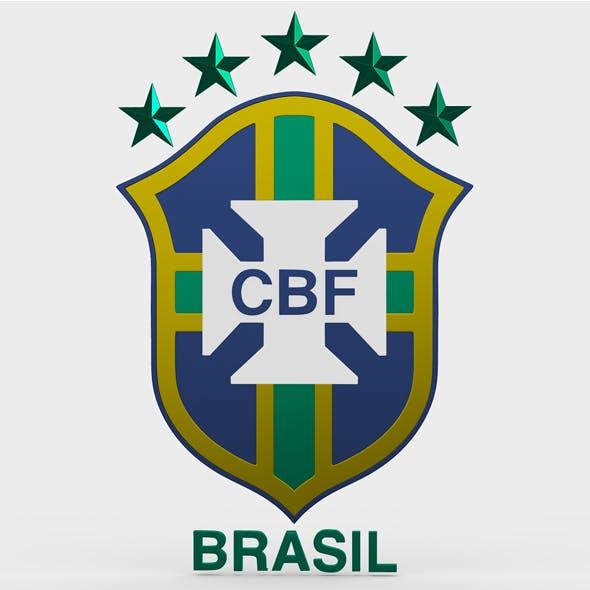 brasil logo - 3DOcean Item for Sale