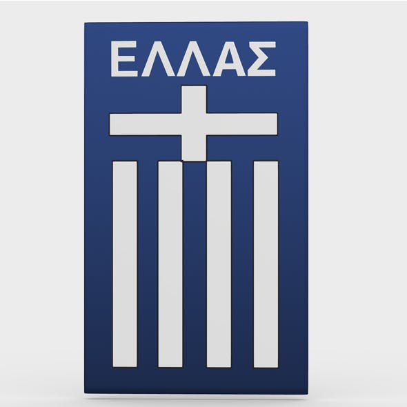 greece logo - 3DOcean Item for Sale