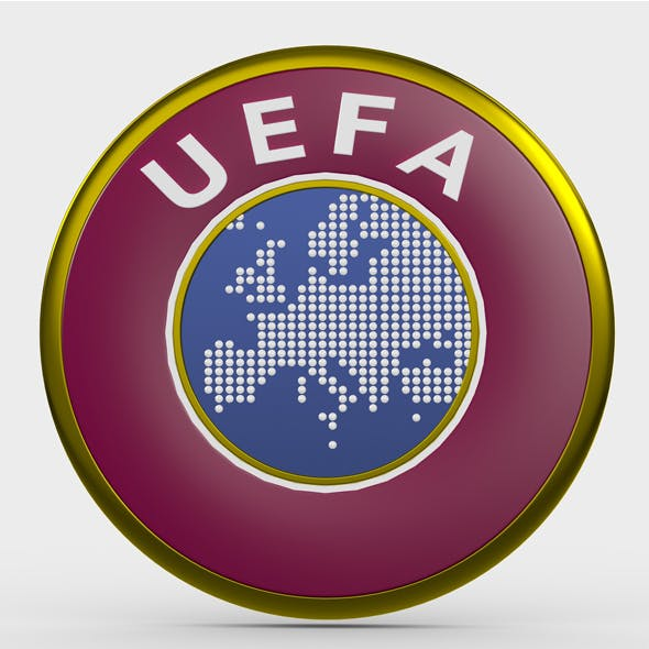 uefa logo - 3DOcean Item for Sale