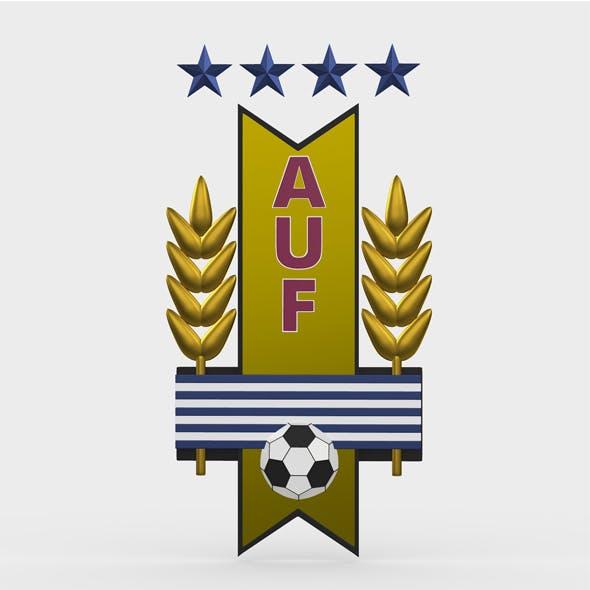 uruguay logo - 3DOcean Item for Sale