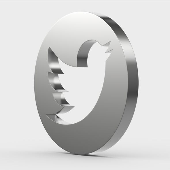 twitter icon - 3DOcean Item for Sale