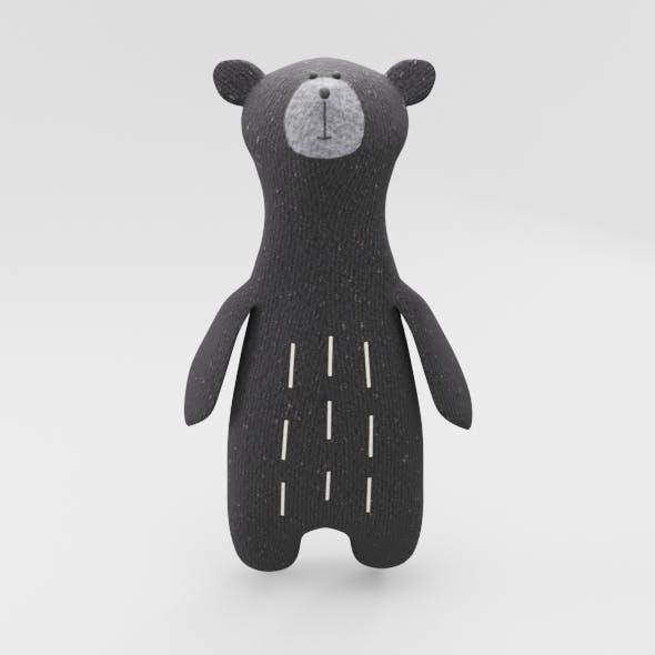 Plush Teddy Bear Toy - 3DOcean Item for Sale