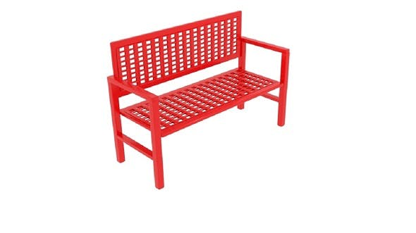 Wireframe Bench - 3DOcean Item for Sale