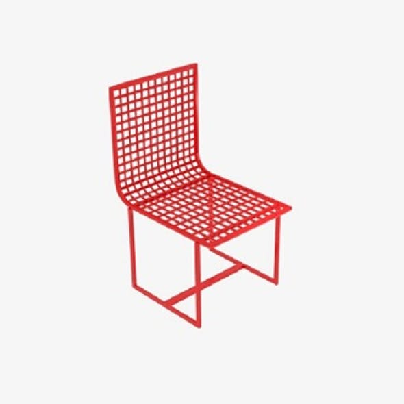 Wireframe Chair