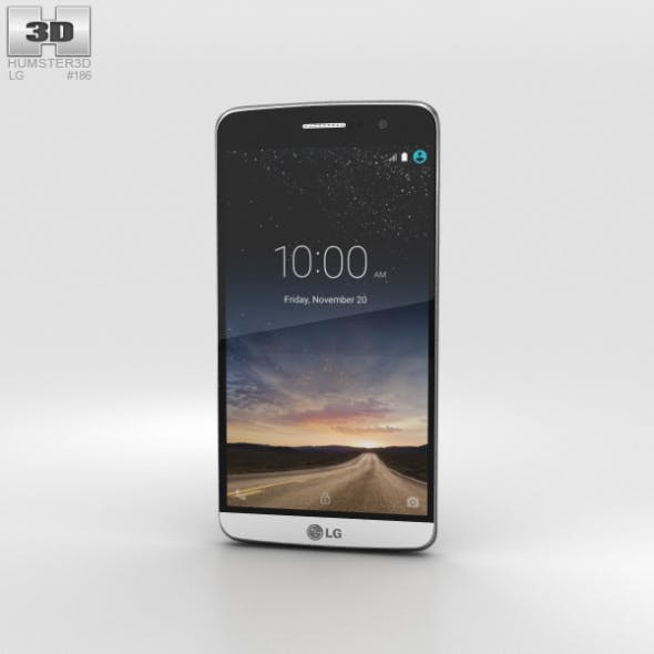 LG Ray Silver - 3DOcean Item for Sale