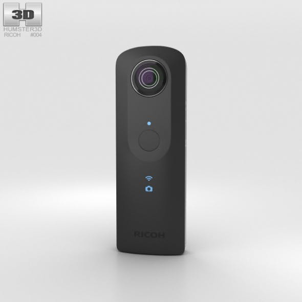 Ricoh Theta S - 3DOcean Item for Sale