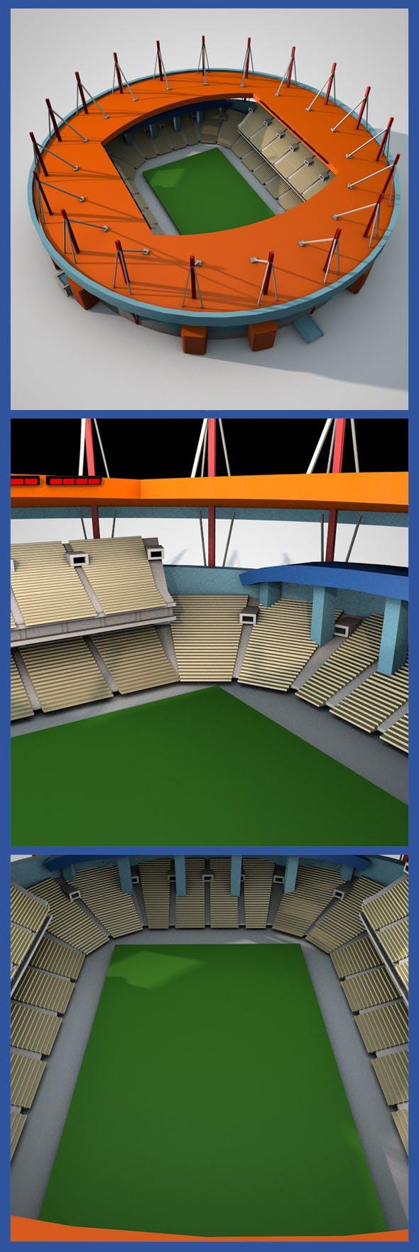 Estadio Municipal de Aveiro - 3DOcean Item for Sale