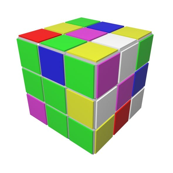 Cube Game - 3DOcean Item for Sale