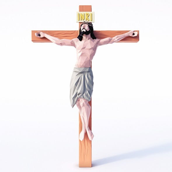 Jesus Low Poly
