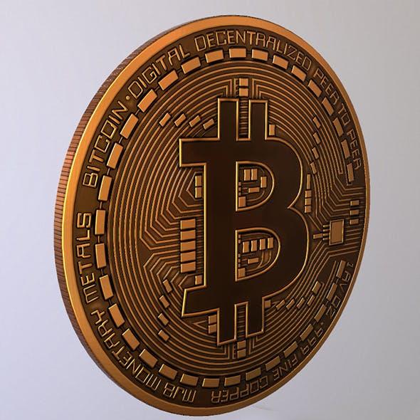 Bitcoin 2018 Lowpoly