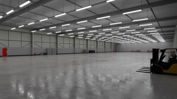 Industrial Building Interior 3b - 3DOcean Item for Sale