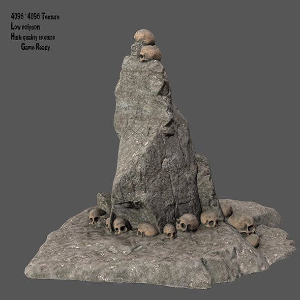 skull stone