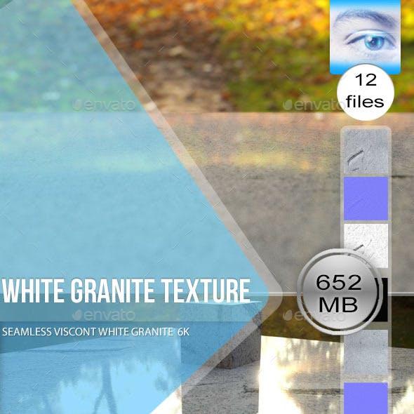 Seamless White Granite Textures 6K