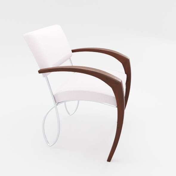 Contemporary Minimalistic Chair - 3DOcean Item for Sale