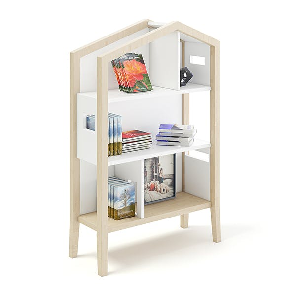 House Shape Shelf - 3DOcean Item for Sale
