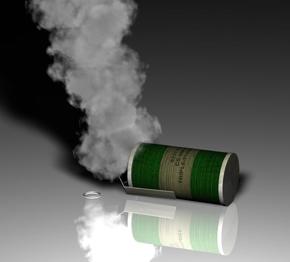Smoke grenade - 3DOcean Item for Sale