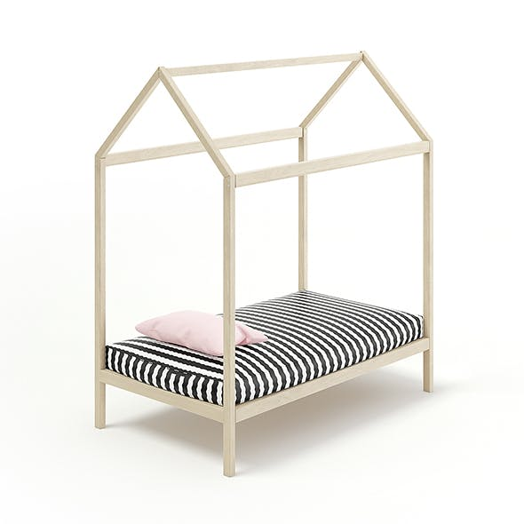 House Shape Bed