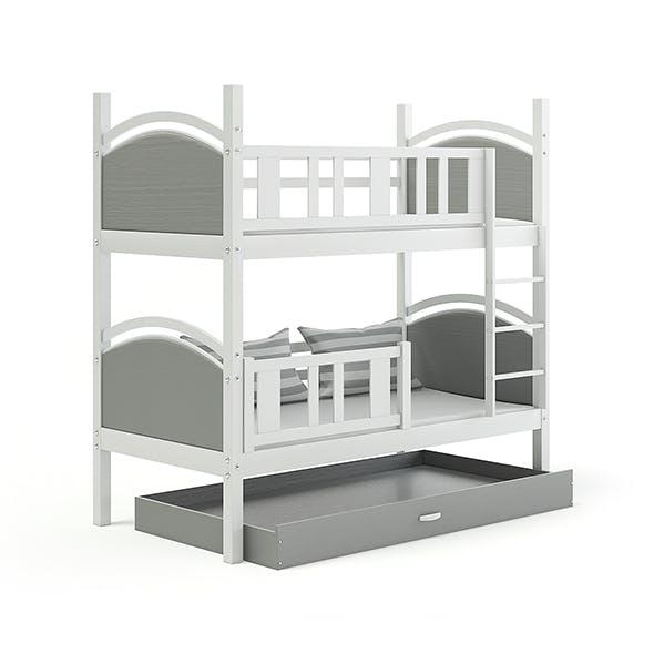 Grey Bunk Bed