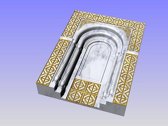 ancient window ancient door - 3DOcean Item for Sale