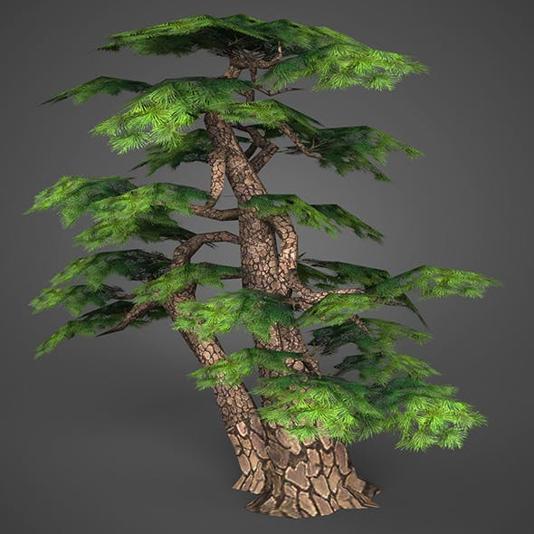 Game Ready Low Poly Tree 16 - 3DOcean Item for Sale