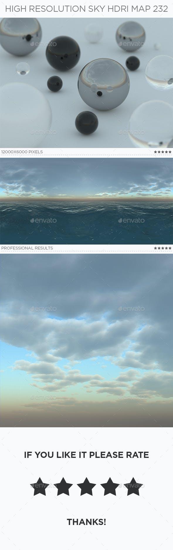 High Resolution Sky HDRi Map 232 - 3DOcean Item for Sale