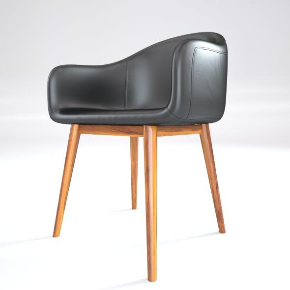 Black Leather Loft Chair