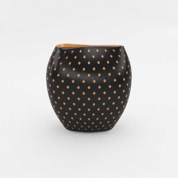 Aldo Vase Schwarz - 3DOcean Item for Sale